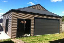 Dutch Gable Roof Garage