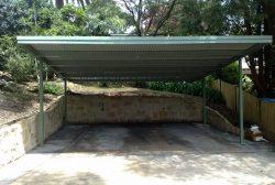 Flat Roof Carport 2