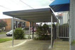 Flat Roof Carport 3