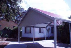 Gable Roof Carport 3